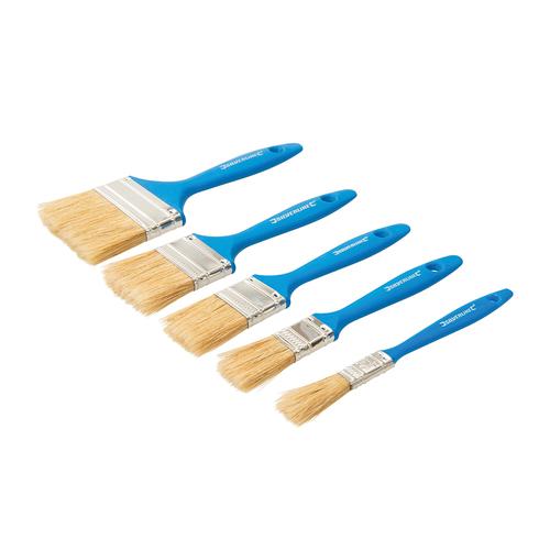 Silverline Disposable Paint Brush Set 5pc
