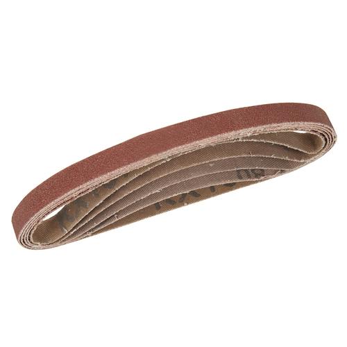 Silverline Sanding Belts 10 x 330mm 5pk – Mixed Grit