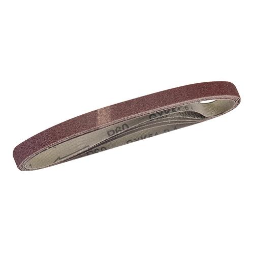 Silverline Sanding Belts 10 x 330mm 5pk – 60 Grit