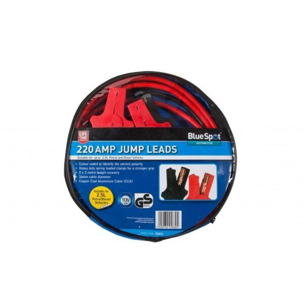 BlueSpot 220 Amp Jump Leads