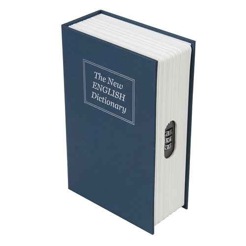 Silverline 3-Digit Combination Book Safe Box