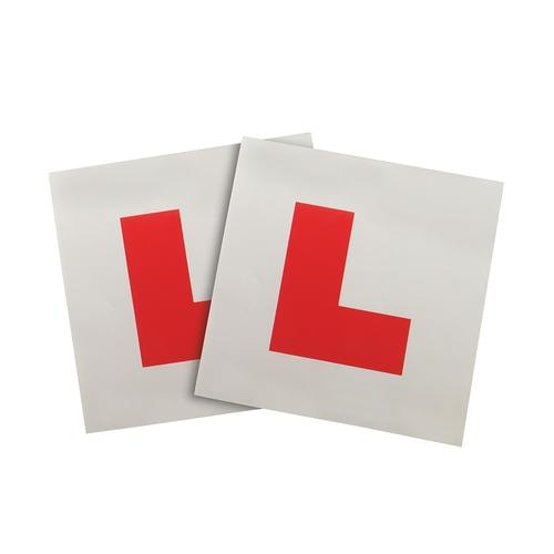 Silverline Magnetic L Plates 2pce