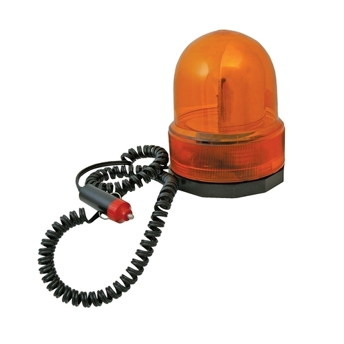 Silverline Revolving Amber Light with Strong magnetic base