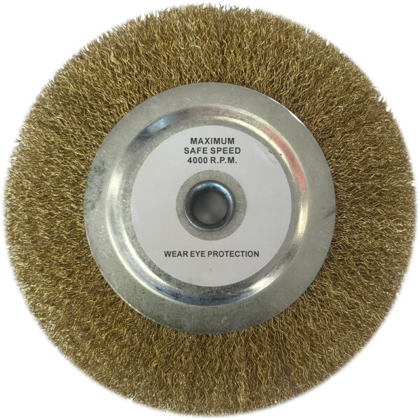 """Clarke Replacement 8"""" Wire Wheel"""