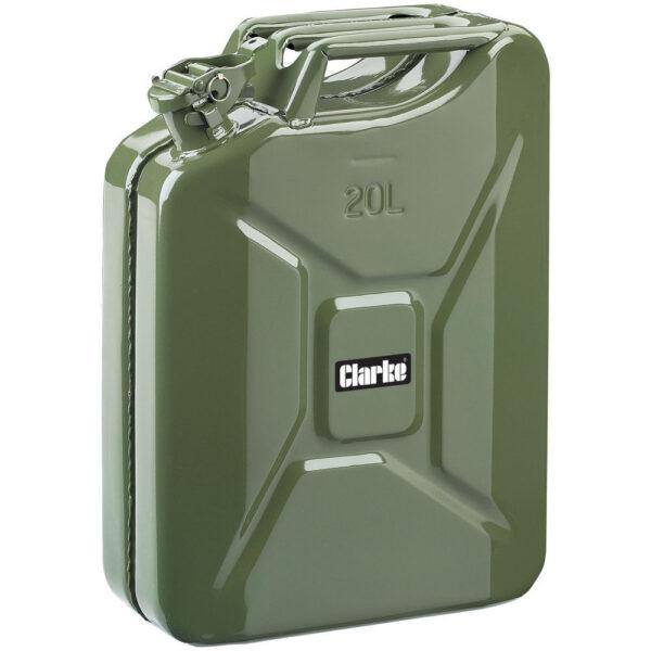 Clarke 20 Litre Fuel Can (Green)