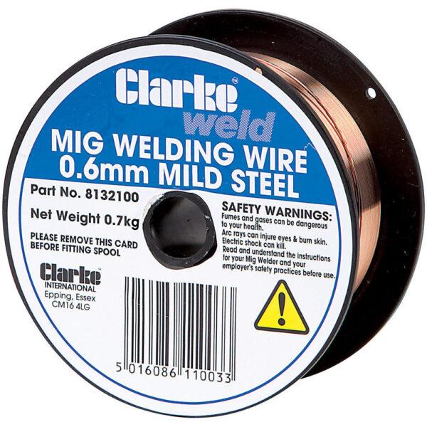 Clarke Mild Steel Welding Wire 0.6mm