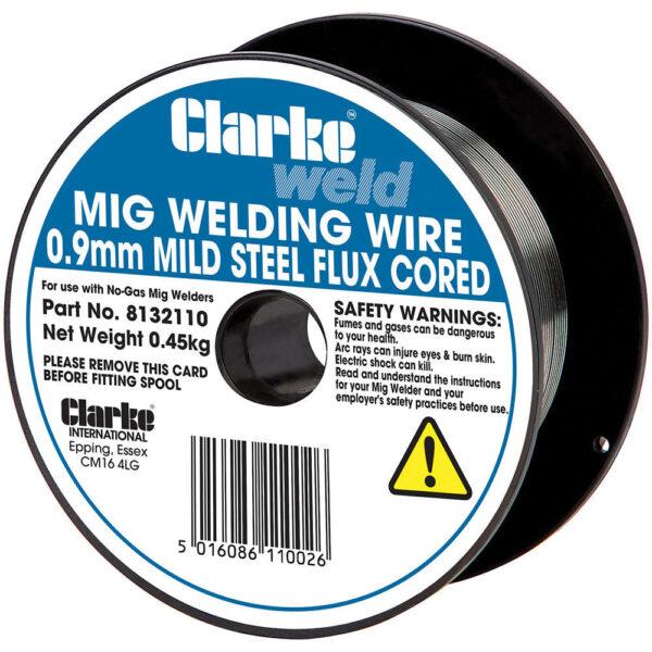 Clarke Mild Steel Flux Cored Welding Wire 0.9mm