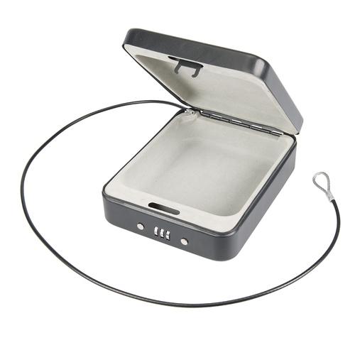 Silverline 3-Digit Combination Car Security Safe Box