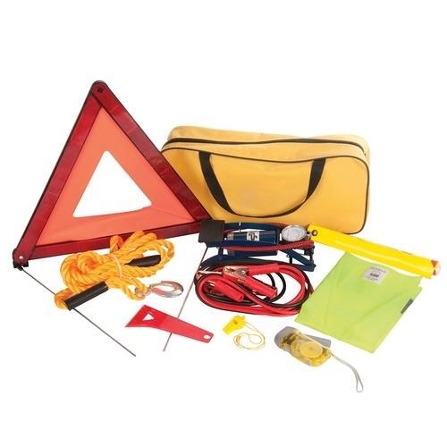Silverline Car Emergency Kit 9pce