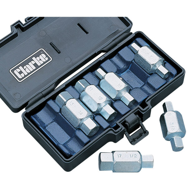 Clarke CHT220 Oil Drain Plug Key Set