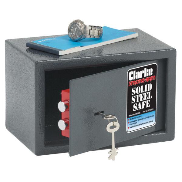Clarke CS300K Small Key Operated Safe