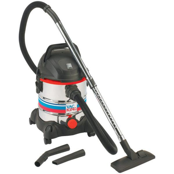 Vac King CVAC20SS Wet & Dry Vacuum Cleaner (230V)