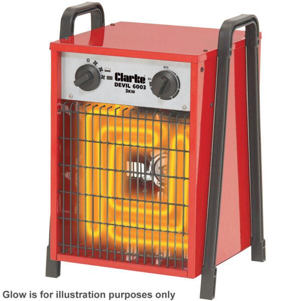 Clarke Devil 6003 Industrial Electric Fan Heater