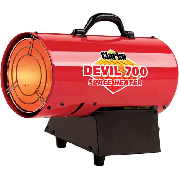 Clarke Devil 700 Propane Fired Space Heater