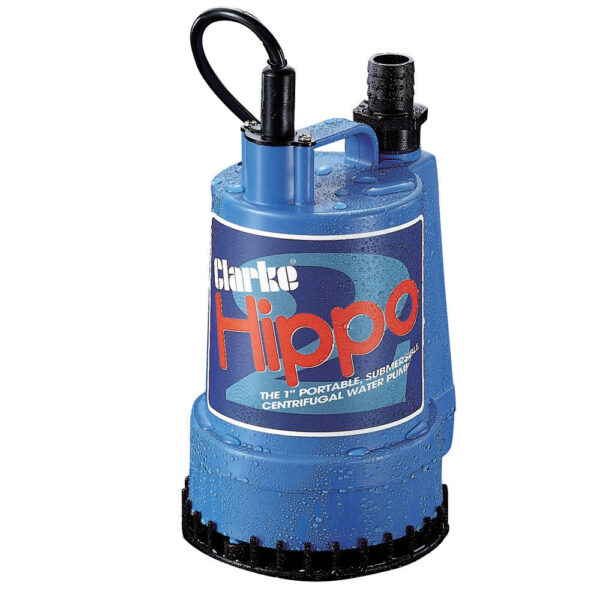 Clarke 1″ Submersible Water Pump – Hippo 2- 230V