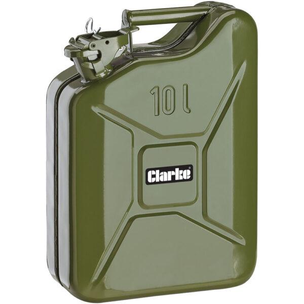 Clarke JC10LG 10 Litre Fuel Can (Green)