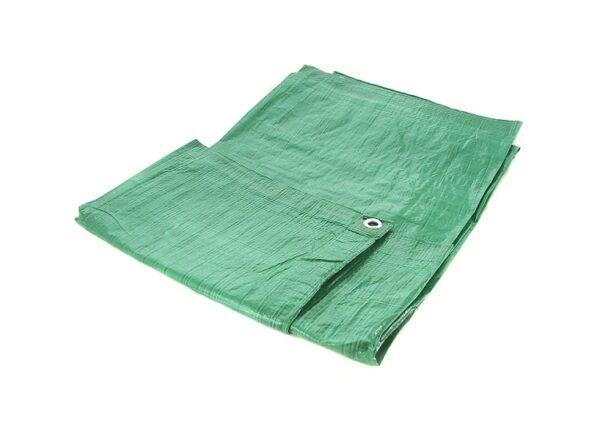 Toolzone 1.8M X 2.4M Green Tarpaulin