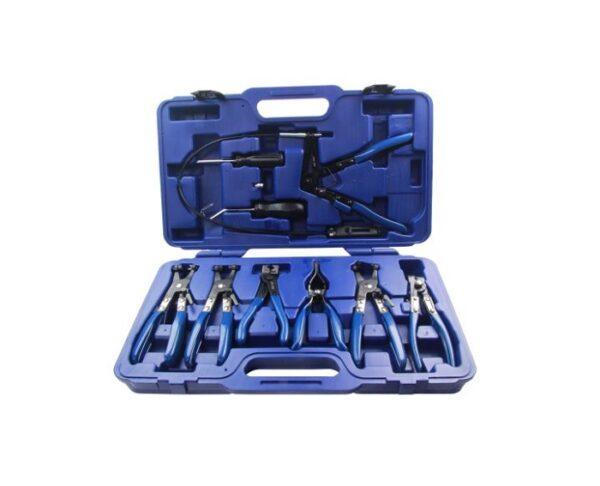 US Pro 9Pc Hose Clamp Plier Kit